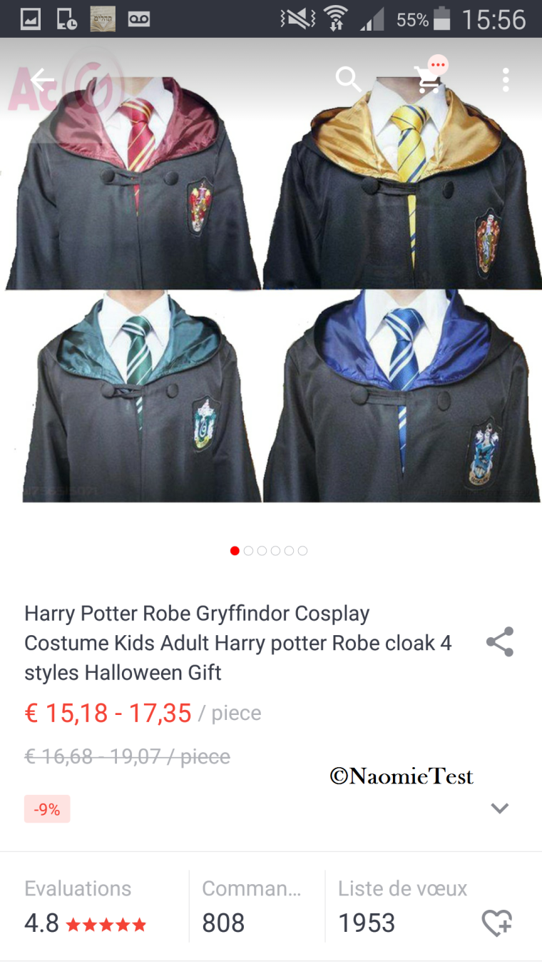 deguisement_harry_potter_black_friday_2015_aliexpress_selection