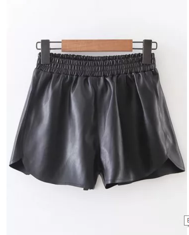 rosegal-shorts-leather